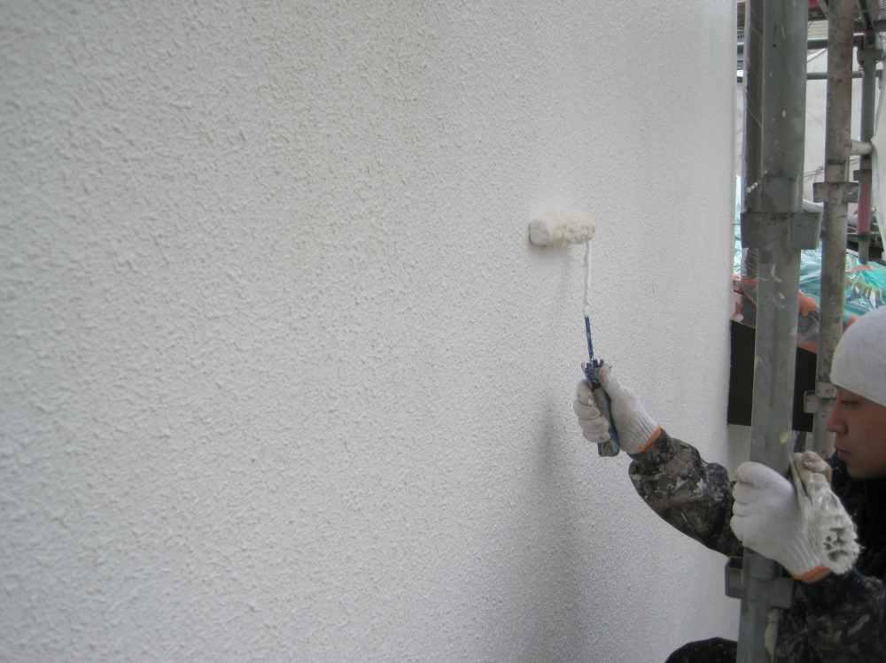 上塗り工事