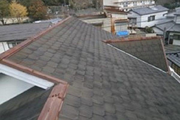 長野県上田市 屋根塗装 ファインシリコンベスト