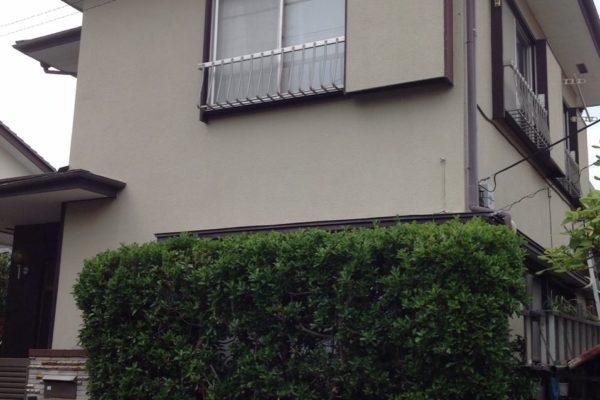 長野県諏訪市 外壁塗装 コーキング工事 付帯部ケレン作業 付帯部塗装