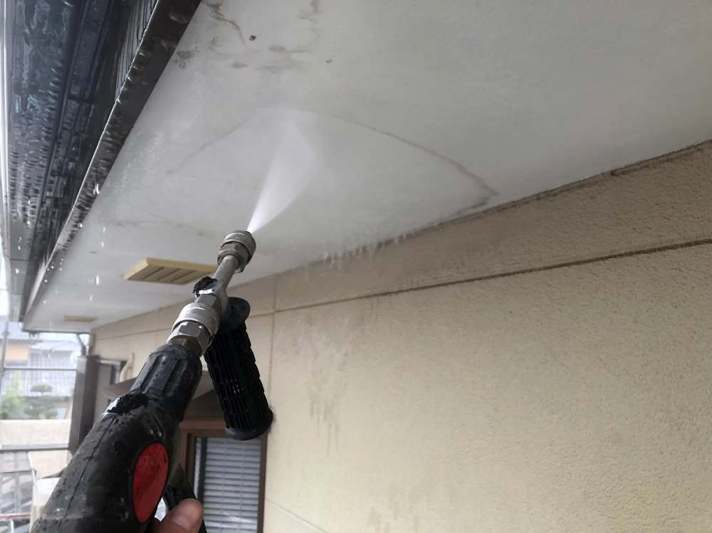高圧洗浄工事