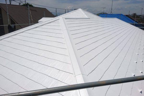 長野県安曇野市 棟板金交換 屋根塗装