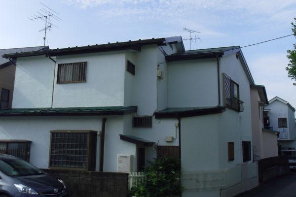 長野県諏訪市 外壁塗装 クラック補修工事