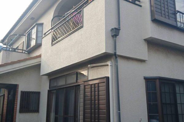 長野県安曇野市 外壁塗装 コーキング工事 付帯部塗装 バルコニー防水工事