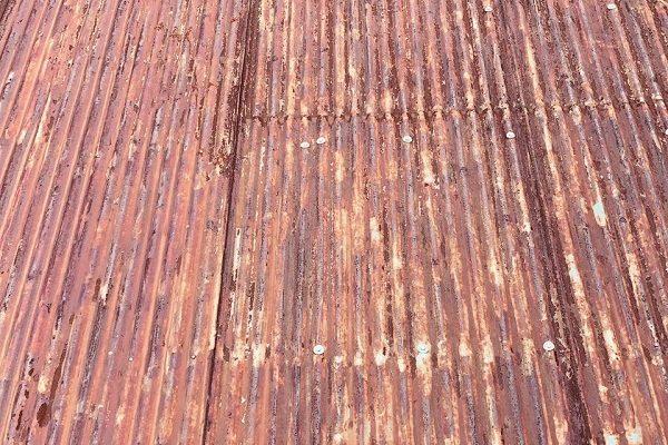 長野県須坂市 屋根塗装 折板屋根 現場調査