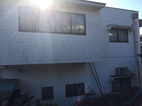長野県上田市 外壁塗装 当社の強み チョーキング現象