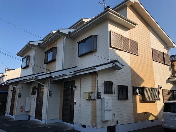 長野県長野市 外壁塗装 付帯部塗装 水谷ペイント ナノコンポジットW 定期訪問サポート