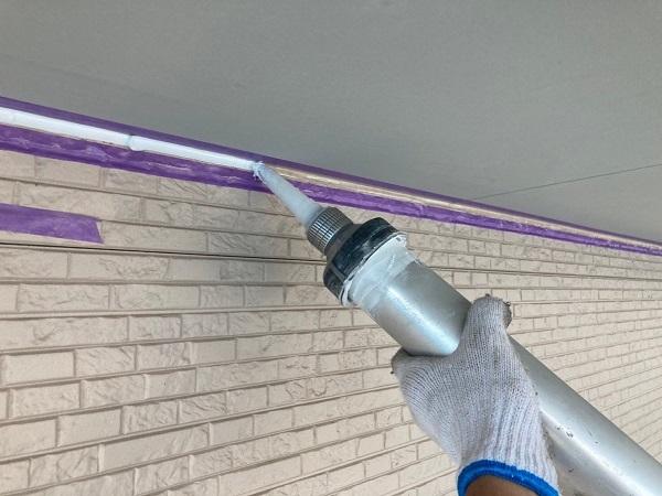 長野県松本市 外壁塗装 シーリング工事の工程 シーリング打ち替え工事とシーリング打ち増し工事の違い (1)