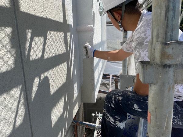 長野県岡谷市 外壁塗装 下塗り・中塗り・上塗りの役割 塗装業者の選び方