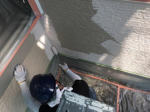 長野県松本市 外壁塗装 外壁の下地処理の工程 ナノコンポジットW (2)