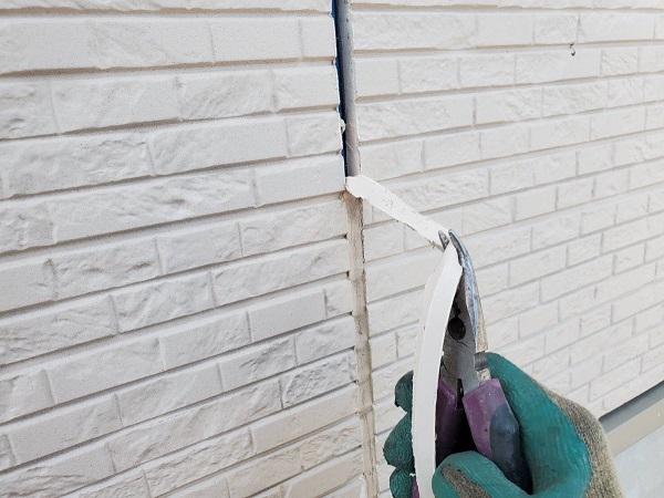 長野県松本市 外壁塗装 シーリング工事の工程 シーリング打ち替え工事とシーリング打ち増し工事の違い (2)