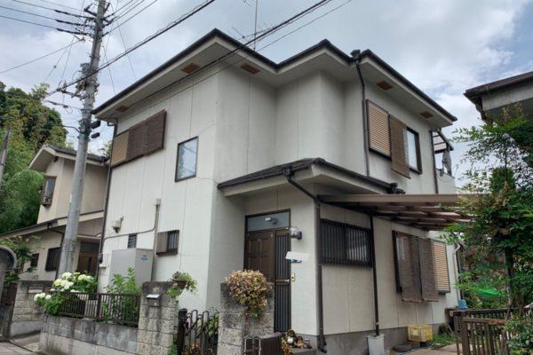 長野県上田市 外壁塗装 ひび割れ