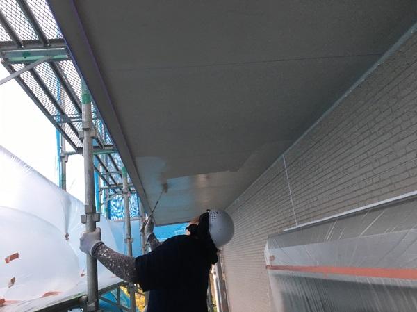 長野県松本市 外壁塗装 軒天塗装 軒天の役割 塗装の手順 ダメ込みとは