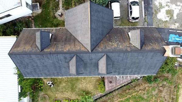 長野県飯田市 屋根工事 事前調査 屋根の劣化症状 葺き替え工事と重ね葺き工事 (1)