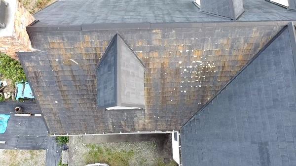 長野県飯田市 屋根工事 事前調査 屋根の劣化症状 葺き替え工事と重ね葺き工事 (2)