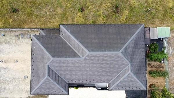 長野県塩尻市 屋根塗装 無料現場調査 ドローンでの撮影 屋根塗装の頻度 (2)