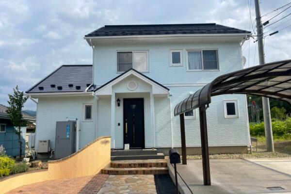 長野県長和町 屋根・外壁塗装、付帯部塗装、コーキング打ち替え
